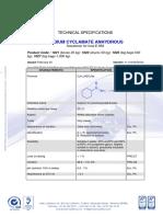 Sodium Cyclamate Ep 7