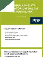 Penggunaan Data Laboratorium Dalam
