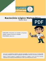 Raciocínio Lógico Matemático Modulo Geral