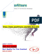 New Pass4itsure Cisco 600-512 Dumps PDF - Implementing with Cisco Network Programmability for ACI (NPENGACI)
