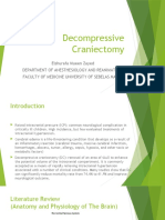 powerpoint Decompressive Craniectomy
