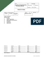 PTW Rev 4 Procedure