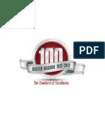 100th Anniversary Brochure