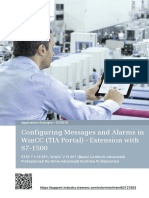 62121503 MessagesAndAlarmsWinCC Extension S7-1500 DOC TIAV13 En