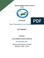 Ser Humano y su Contexto tarea 1.docx