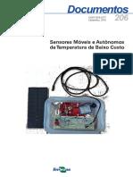 Sensores Móveis e Autônomos de Temperatura de Baixo Custo