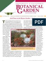 Summer-Fall 2008 Botanical Garden University of California Berkeley Newsletter