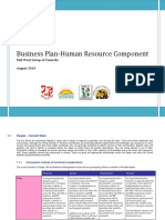 Business Plan - Human Resource Component