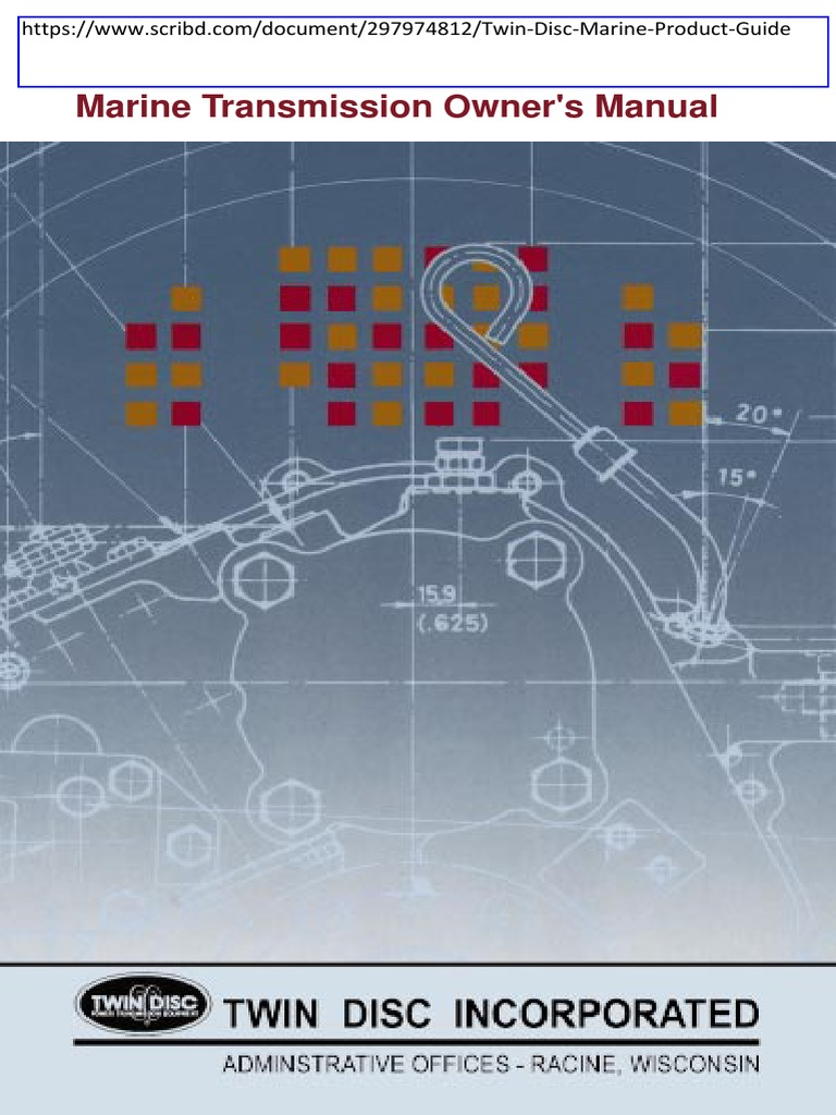 twin disc marine transmission operators manual pdf transmission rh scribd com