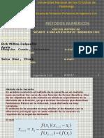 Metodos de secante - metodos numericos