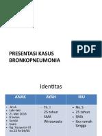 contoh Kasus Bronkopneumonia