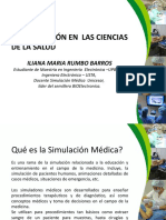 Simuladores en Ciencias de La Salud