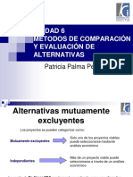 06 Métodos de Comparación y Evaluación de Alternativas