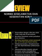 4 Review Peraturan Pe-UU-An K3