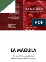 Revista La Maquila (3) Mayo de 2016 [Reeditada Para Publicar]