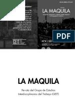 Revista La Maquila (2) Noviembre de 2015 [Reeditada Para Publicar]
