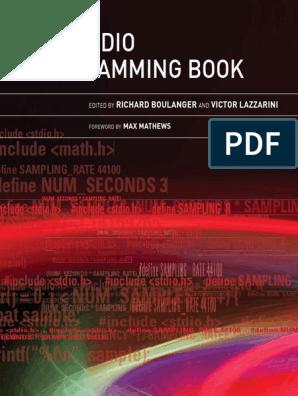 Carte Revolving Boulanger.Boulanger Lazzarini Audioprogrammingbook Pdf Integer