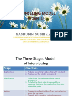 Counseling Model (Stage 1)