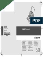 BOSCH GAS 50 Professional Manual