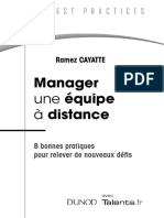 Manager Une Equipe à Distance