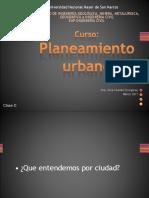 Planeamiento Urbano y El Crecimiento Urbano