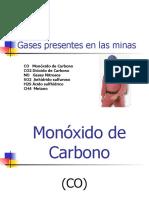 Gases Presentes en Las Minas