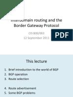 lecture2-bgp