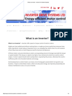 What is an Inverter - Inverter Drive Systems Explains