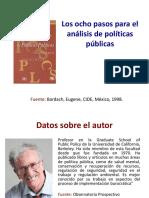 Los ocho pasos para el analisis de politicas públicas ARROYO - DAGA.pdf