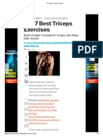 The 7 Best Triceps Exercises