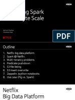Netflix Integrating Spark at Petabyte Scale