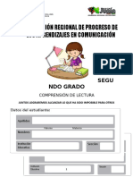 PRUEBA ECE 2° COMUNICACION