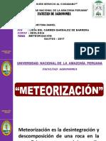 METEORIZACIÓN