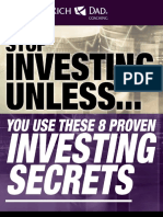 Stop Investing Unless You Use These 8 Proven Investing Secrets