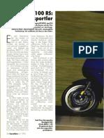 Touren-Test - BMW K 1100 RS Tourenfahrer 04/1993