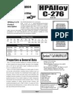 HP Alloy C276