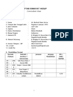 CV Bachrul Alam Arriza