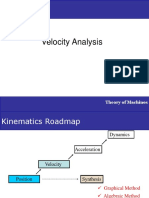 Velocity Analysis | Mechanics of Machines