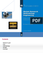 9h20 Market Research Methodology - Engineering 2014