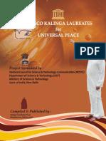 Kalinga Awardees