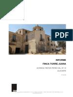 Informe Estado Torre Juana