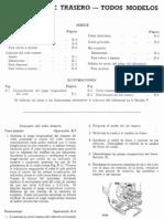 Land Rover Santana  Manual de Taller - Eje Trasero
