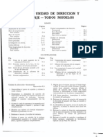 Land Rover Santana Manual de Taller - Unidad de Direccion y Varillaje