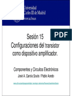 Configuracion Del Transistor Como Dispositivo Amplificador