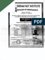 V  Mane Certificate
