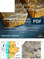 6 Modelos de Recursos Zaldivar M. Calvo Barrick