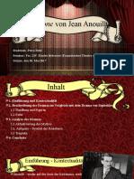 Antigone_Anouilh Präsentation