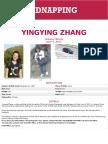 Yingying Zhang FBI