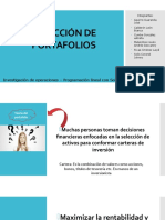 SELECCIÓN DE PORTAFOLIOS Presentacion FINAL.pptx