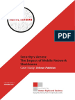 2015-09, IHRB Report, Security v Access - The Impact of Mobile Network Shutdowns